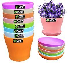 QUIET 8 Colors Cute Mini Colorful Plastic Flower Pots Wit... https://smile.amazon.com/dp/B01EWADR7G/ref=cm_sw_r_pi_dp_I-yExbS8V8BMN