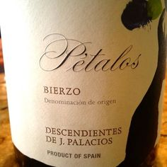 "2009 Descendientes De Jose Palacios ""Petalos del Bierzo"" Bierzo - Great value  from Spain for about $20. Made from the Mencia grape, which is often compared to Cab Franc."
