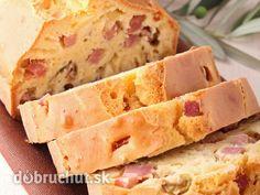 Šunkovo - olivový chlieb