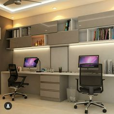 Study Table Designs, Study Room Design, Home Office Layouts, Space Saving, Custom Glock, House Design, Interior Design, Home Decor, Home Office Design