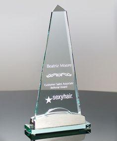 Show details for Salisbury Spire Glass Award | edco.com
