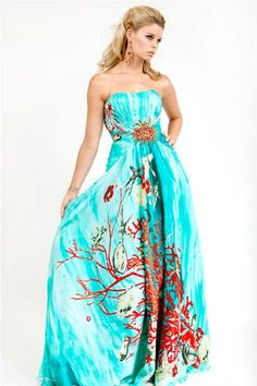 hawaiian prom dresses - Wedding In Arizona - Pinterest - Colors ...