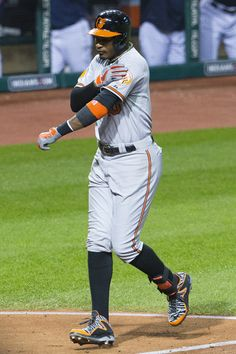Adam Jones - Baltimore Orioles v Cleveland Indians