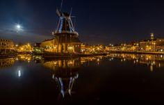 Haarlem by moonlight