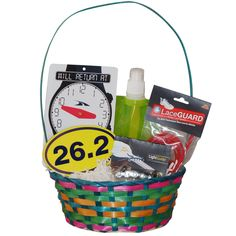 Are you the easter bunny our marathon runner easter baskets are running easter basket 262 marathon over 40 off negle Choice Image