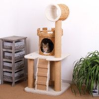1000 images about cat castles on pinterest cat trees for Castle cat tower