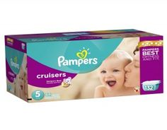 Pampers Cruiser Nappies size 5  Pampers are the worlds leading diaper brand and their Cruiser range is exactly what growing toddlers who are now on the move need, to keep them dry and comfortable as they become more active and enter the phase of being independently mobile. #babygifts #babyshower #babygear #babyseats #diapers #nursery #strollers