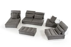 Functional, stylish and comfortable, the Panorama Sectional has it all! Made in Italy, the Panorama is made with high quality materials and designed with the user in mind. Featuring a completely modular design for multiple configuration options, four adjustable headrests and lumbar support. The corner stool includes a moveable backrest with a non-skid fabric which allows it to be fully moveable yet sturdy when in place. The one seater & 2 seater backrest features a move-back mechanism which…