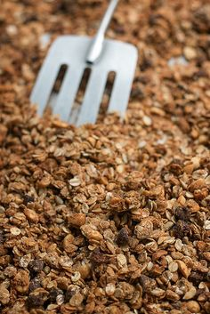 Peanut Butter and Chocolate Chip Granola by David Lebovitz