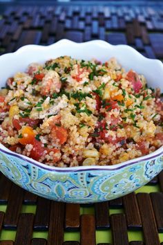 Lea's Cooking: Simple Couscous Recipe.  Lia - good, especially with 1/4 cup broth added.