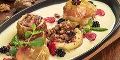 Un desert de toamna propus de chef Joseph Hadad. Camembert Cheese, French Toast, Deserts, Dairy, Breakfast, Food, Sweets, Morning Coffee, Essen