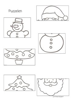 This is an adorable Penguin cut and paste art template ...