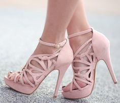 escarpins roses♥