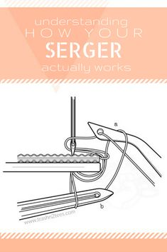 Have you ever wondered how a serger actually works? All month long we're digging deep and learning to love our sergers. Last week I expl...