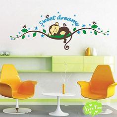 Large Plum Blossom Tree Wall Stickers with Birds Vinyl Mural Wall Decals for Children Baby Nursery Room D/écor White