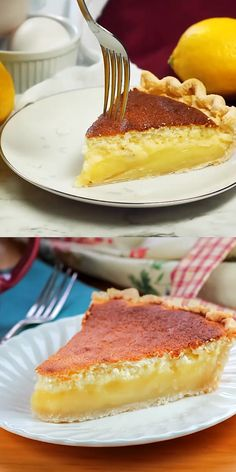 Lemon Sponge Pie has the perfect lemon flavor. It makes a soft sponge like topping while underneath a creamy delicious lemon filling. Bake a taste of Pennsylvania Dutch goodness in Lemon Sponge Pie pies pies recipes dekorieren rezepte Lemon Desserts, Lemon Recipes, Easy Desserts, Sweet Recipes, Baking Recipes, Delicious Desserts, Cake Recipes, Dessert Recipes, Yummy Food
