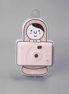 Everyone needs a pink camera: sakura toy camera
