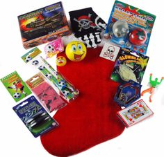 The perfect pre-stuffed Christmas Stocking crammed full of goodies ...