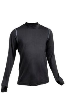 Base Layers 181357: Terramar Thermolator Climasense 4-Way Stretch Brushed Crew Hoodie -> BUY IT NOW ONLY: $32.09 on eBay!