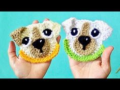 Ideas For Crochet Tutorial Hat Watches Crochet Applique Patterns Free, Crochet Motif, Crochet Stitches, Knit Crochet, Knitting Patterns, Crochet Hats, Crochet Videos, Drops Design, Crochet Animals