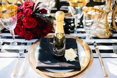 Because what guest wouldn't want to be greeted by their own mini bottle of champagne?!
