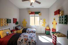 Lego themed contemporary kids' room [Design: Design Source Interiors]