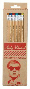 Warhol Philosophy Pencil Set: Andy Warhol: 9780735337008: Amazon.com: Books