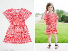 The 45-minute Butterfly Tunic DRESS (...for girls and women BOTH)