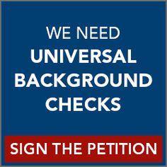 Support Universal Background Checks | Democrats.com