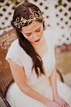 pretty head piece