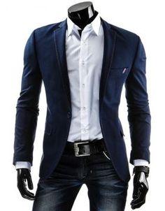 kabáty a saká Suit Jacket, Blazer, Suits, Jackets, Men, Fashion, Down Jackets, Moda, Fashion Styles