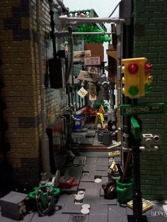 Don't Step On the LEGOs — (via Shortcut through a shady part of town)