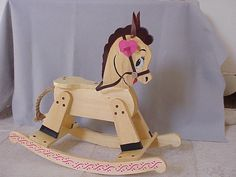 illustrated rocking horse- same as mine. possible design