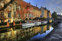 """100 Pin Max: """"Reflections"""" Stunning. Incredible. ~ Bruges, Belgium by Aubrey Stoll"""