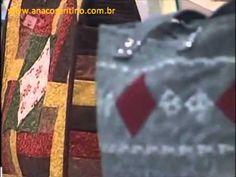 ▶ Patchwork Ana Cosentino: Bolsa Barrado Seminole - YouTube