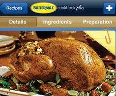 Butterball iCookbook App