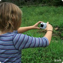 Improve Your Photography - tips for kids and first time photographers for shooting good nature shots. National Wildlife Federation