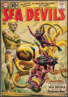 octopus man!