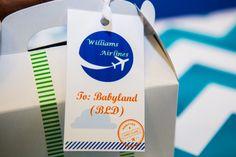 Btsplanning Plane Theme Baby Shower