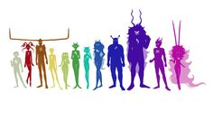 I give credit to whoever made this. This makes me giggle. Look at Rufio's horns! And Kankri's the second shortest!
