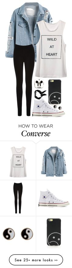 """""""Wild at Heart"""" by ticci-toby on Polyvore featuring PhunkeeTree, Oasis, Boohoo, Converse, Marc by Marc Jacobs and Monsoon"""