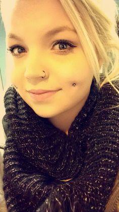 Dimple piercing <3