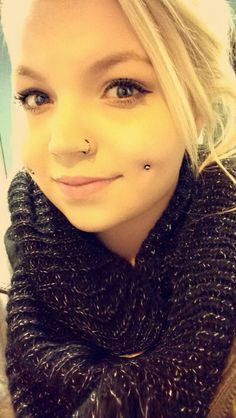 Dimple piercing