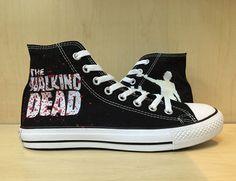 The Walking Dead Custom Converse /Converse by MonicaCustomShop