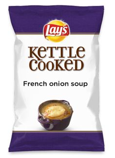 Wouldn't French onion soup be yummy as a chip? Lay's Do Us A Flavor is back, and the search is on for the yummiest flavor idea. Create a flavor, choose a chip and you could win $1 million! https://www.dousaflavor.com See Rules.