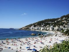 The White Squeaky Beaches of Clifton, Cape Town, South Africa Best Places To Vacation, Great Vacations, Vacation Spots, Places To Travel, Places To Visit, African Vacation, Clifton Beach, Cape Town South Africa, Most Beautiful Beaches