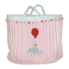 children's padded toy bag by susie watson designs | notonthehighstreet.com