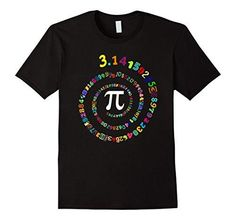 Pi Spiral Shirt for Pi Day