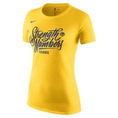 2d4188ba3c  34.99 Women s Golden State Warriors Nike Gold 2018 NBA Playoffs Mantra  Dri-FIT Cotton T