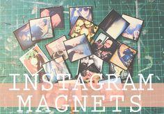 Instagram Magnets DIY